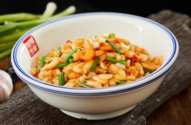 浸菜炒虾米